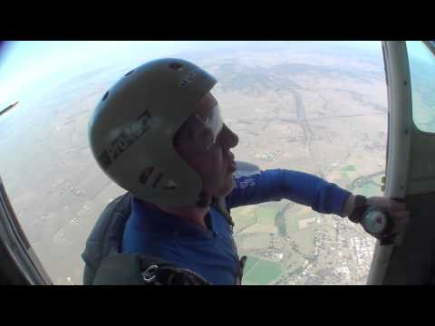 Learning to skydive, static line jumps 1-13