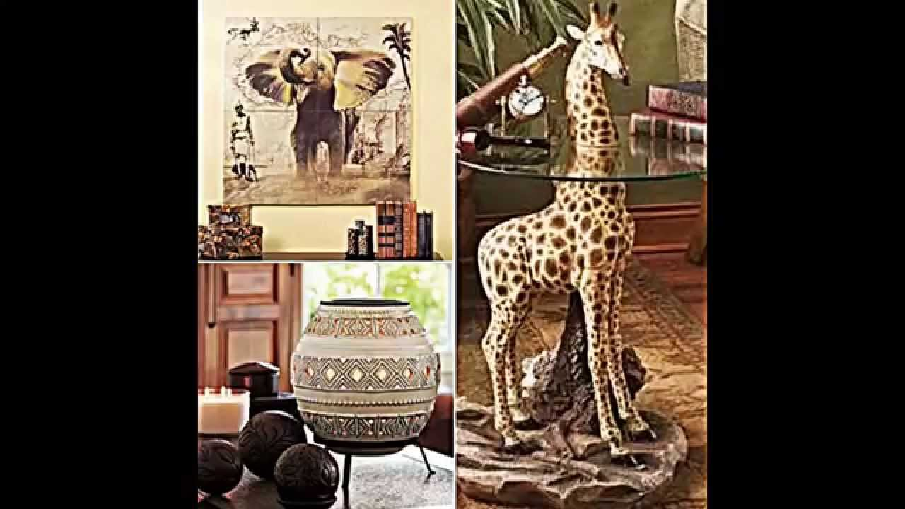 ihre wohnung mit afrika deko einrichten youtube. Black Bedroom Furniture Sets. Home Design Ideas