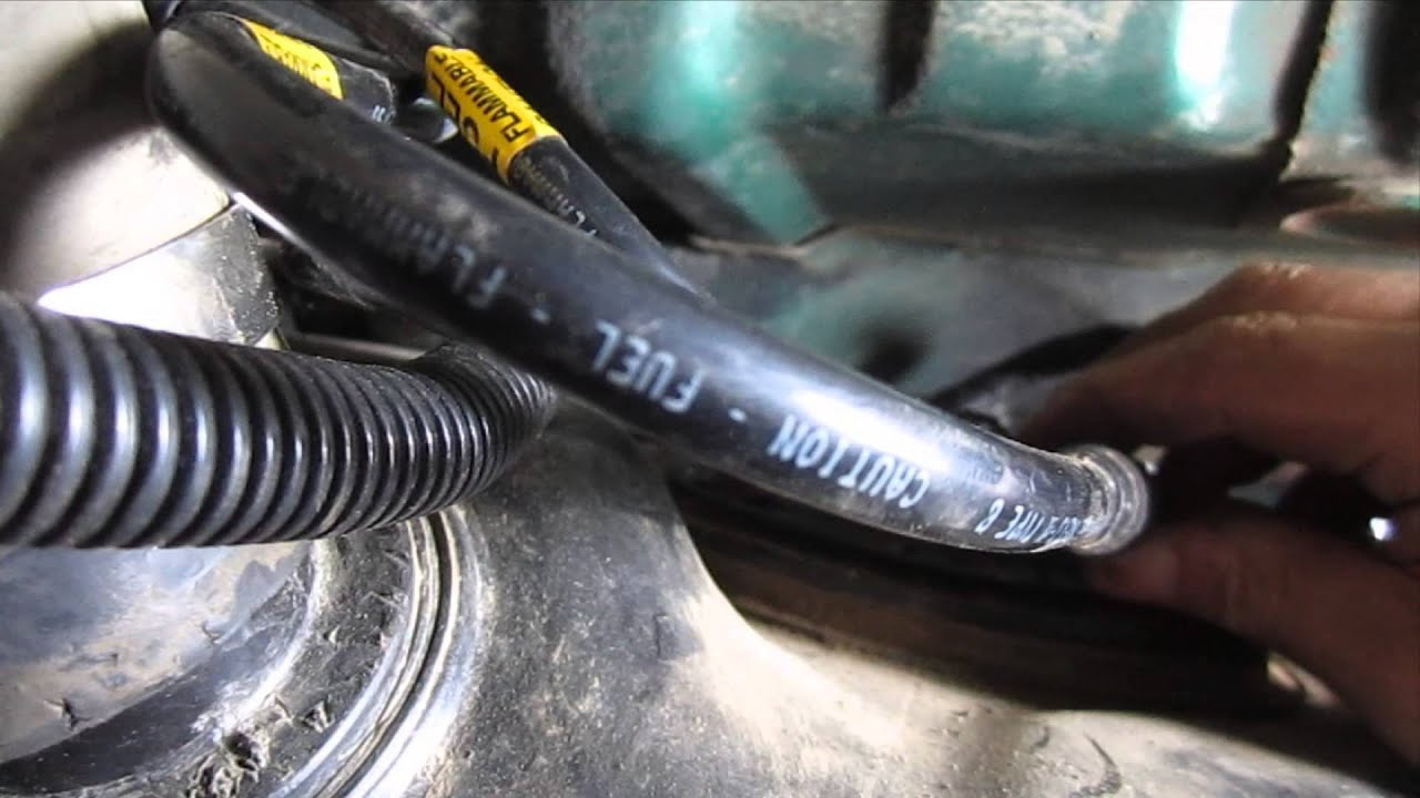 Diy How To Install A Fuel Tank - Gmc Jimmy Chevy Blazer Fuel Pump Repair Video Part 3