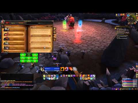 WoW Live: First Warlords of Draenor raid (Highmaul Normal)