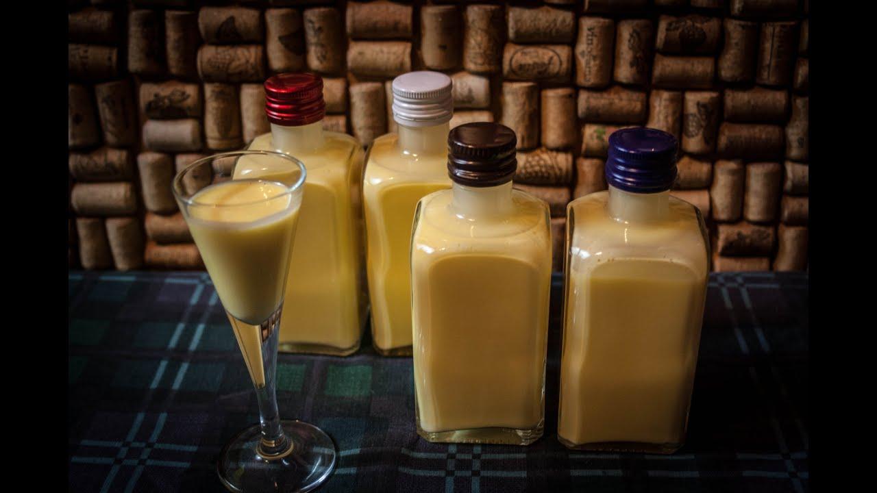 Ликер в домашних условиях с концентрированным молоком