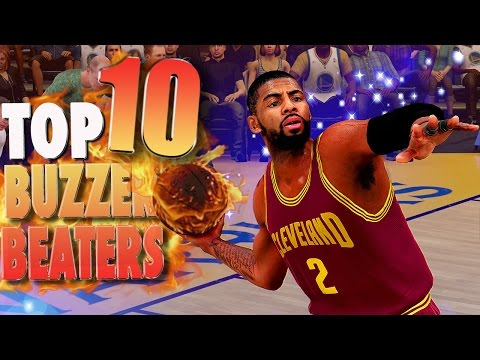 NBA 2K16 TOP 10 BUZZER BEATERS and Game Winning Shots #6