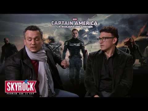 Interview (VO) Joe et Anthony Russo - Captain America - Skyrock