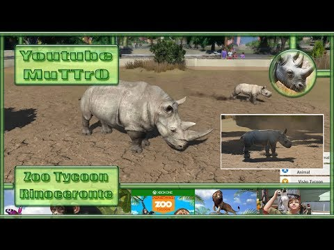 Zoo Tycoon - #12 - Rinoceronte - Xbox One - PT-BR