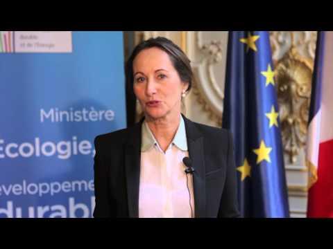 Ségolène Royal appelle les régions à participer au nouveau modèle énergétique français!