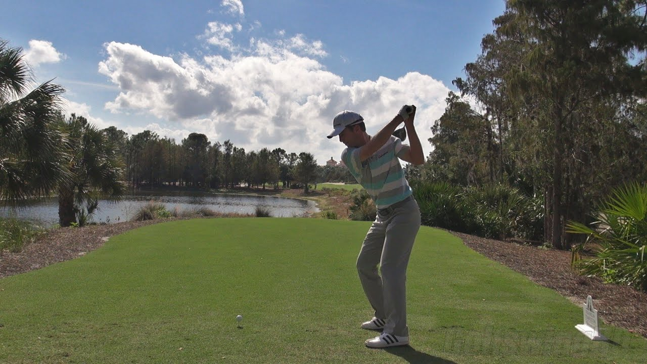 MIKE WEIR - LATE 2013 DRIVER GOLF SWING - DOWN THE LINE ...