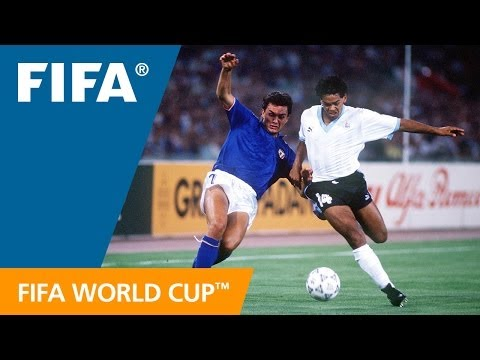 World Cup Highlights: Italy - Uruguay, Italy 1990