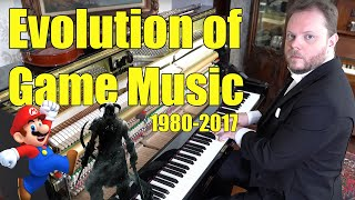 Evolution of Game Music (1980 - 2018)