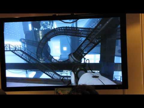 Portal 2 Новое геймплейное видео с GamesCom