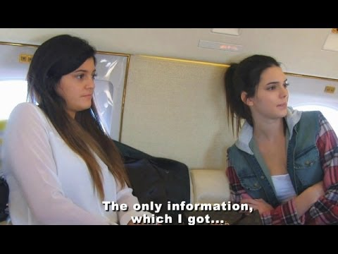 Kendall Jenner & Kylie Fly To Kim Kardashian Secret Engagement