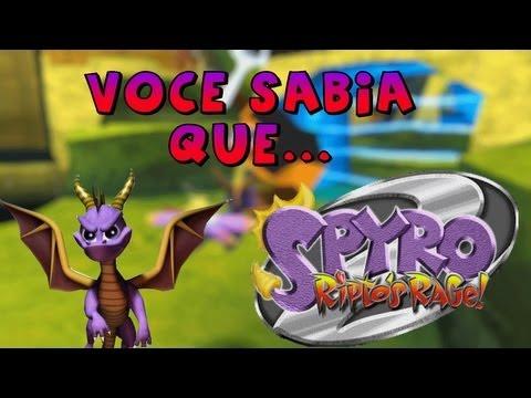 Você Sabia Que... - Spyro The Dragon 2: Ritpo's Rage