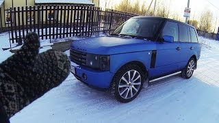 Заводится в -20, но падает пневма. Классика Land Rover. Стрим Костя Академик.