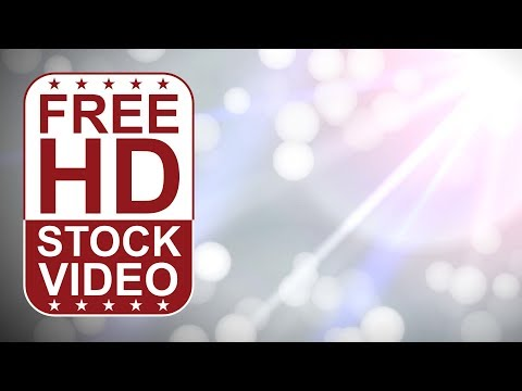 FREE HD video backgrounds –  abstract animated white lights Blurred Bokeh effect