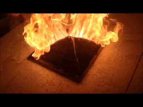 好神奇燃燒金字塔反應