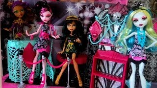 Monster High Frights Camera Action Premier Party Playset