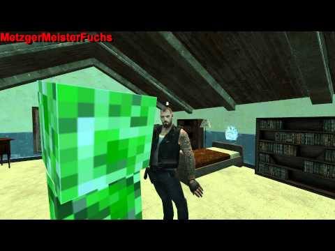 Garrys Mod vs. Minecraft (episode 1)