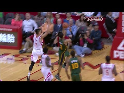 Jeremy Lin 17 pts vs Utah Jazz 2014-03-17