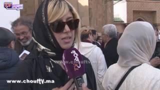أول ظهور إعلامي لسارة الجندي حفيدة المرحوم محمد حسن الجندي في جنازته..وهذا ما قالته للشعب المغربي |