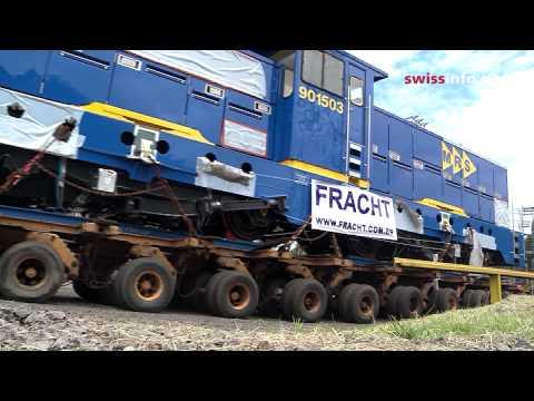 Empresa suíça vende maior locomotiva do mundo ao Brasil
