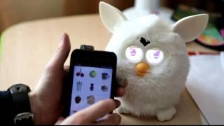 Что умеет Furby (небольшой тест игрушки)