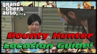 GTA 5 Maude's Bounty Hunter Location Guide! Wanted Alive