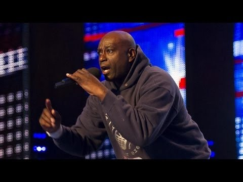 Zipparah Tafari Where's My Phone -- Britain's Got Talent 2012 audition -- UK version