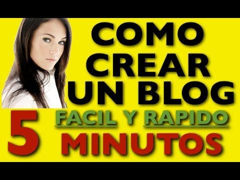 Como Hacer Un Blog - Como Crear Un Blog Facil Y Rapido, Paso A Paso 2014
