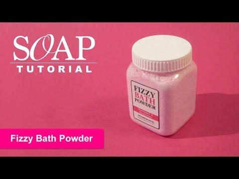 Fizzy Bath Powder, DIY Bath Bombs Powder
