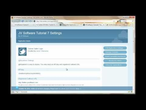 Tutorial Login con Twitter OAuth