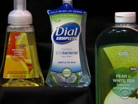 FDA gets tough on antibacterial soaps