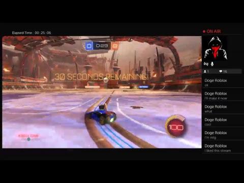 Rocket League gameplay