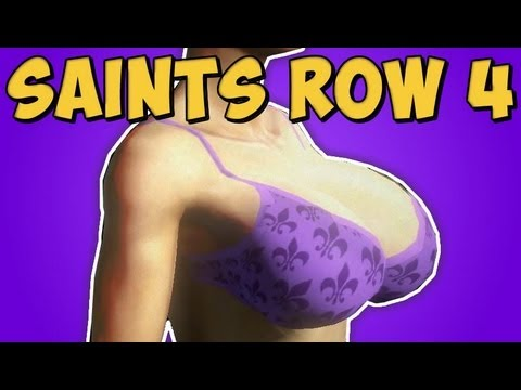 Saints Row 4 - Meu personagem / PEITÕES 2
