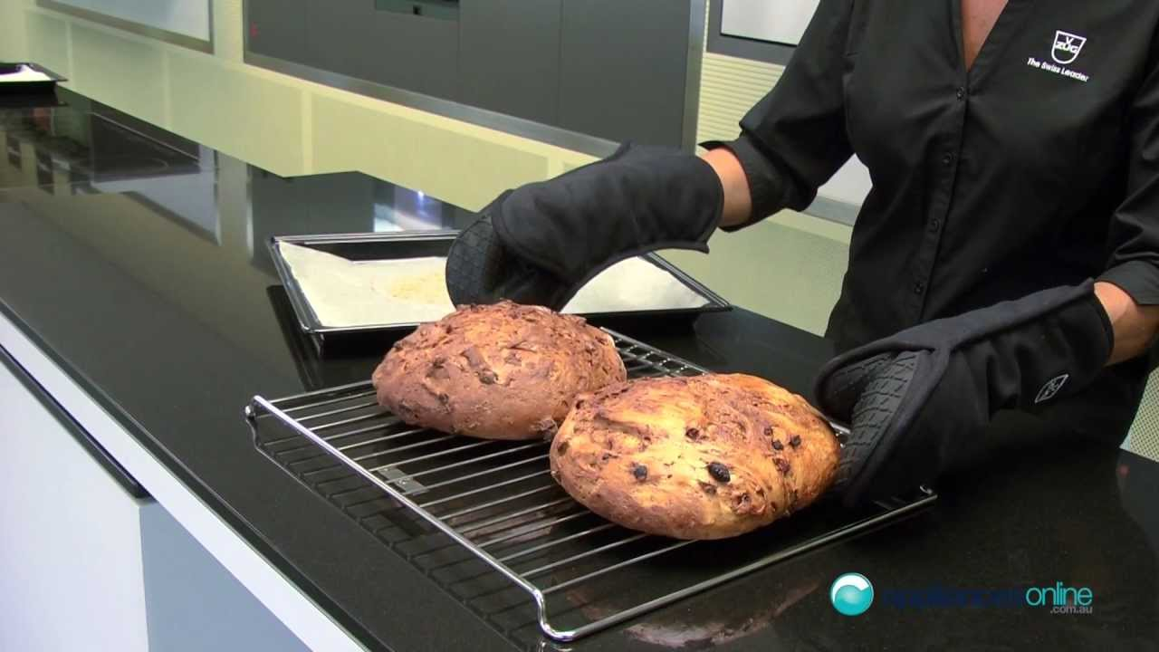 how to bake bread using v zug s combi steam oven appliances