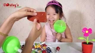 BÓC KẸO MÚT KHỔNG LỒ Chupa Chups - Giant Chupa Chups Lollipops ❤ Dâu Tây Channel