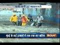 Heavy rainfall triggers water logging in parts of Mumbai
