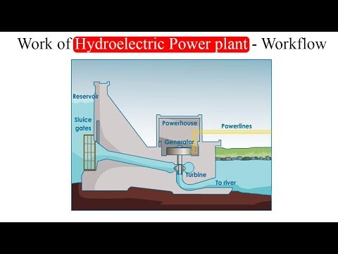 Work of Hydro electric power plant