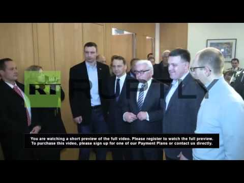 Ukraine: EU delegation meets Klitschko before Yanukovych