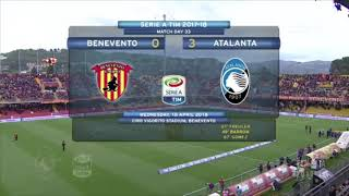 Benevento-Atalanta 0-3 - 33^ giornata - Serie A TIM 2017/2018 - Highlights