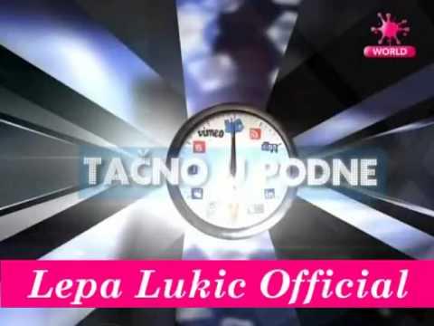 Lepa Lukic & Stanija Dobrojevic - Tacno u Podne - (Pink World 2013)