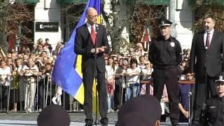 Прем'єр-міністр України Арсеній Яценюк: Вони зробили для себе вибір, вибір – захищати кожну людину