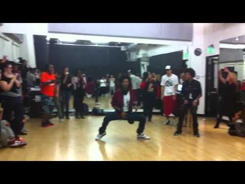 Laurent (Les Twins) Freestyle at Los Angeles Workshop