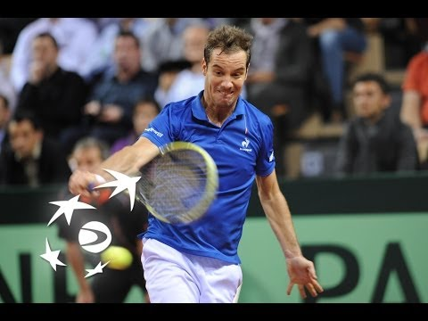 Highlights: Richard Gasquet (FRA) v Nick Kyrgios (AUS)