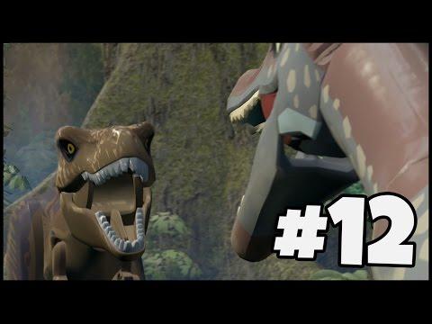 SPINOSAURUS VS T-REX! | LEGO Jurassic World - Part 12