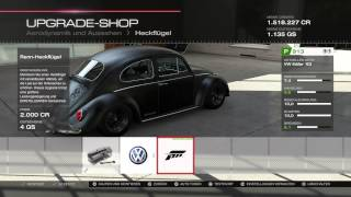 Forza Motorsport 5 VW Beetle Tuning & Drag Race