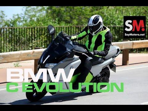 Presentación BMW C evolution