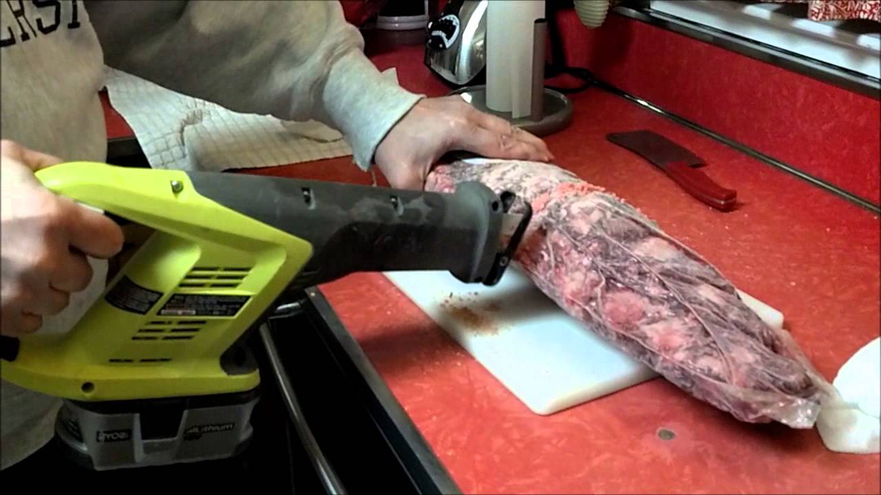 How To Cut A Costco Frozen Beef Tenderloin With A