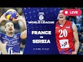France v Serbia Group 1 2017 FIVB Volleyball World League