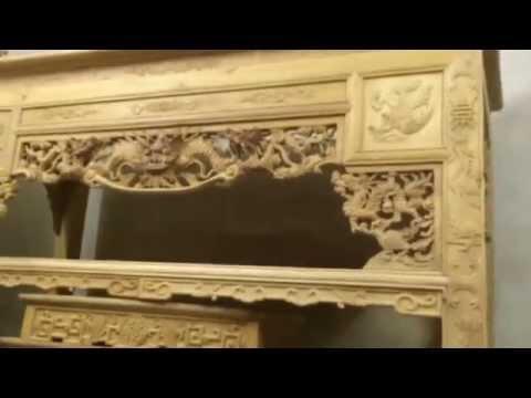 Bàn thờ gỗ Mít 1m97 - 9.5tr tại xưởng gỗ Hường Ngân