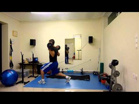 Πρόγραμμα γυμναστικής για κάυση λίπους (Workout for fat burning)