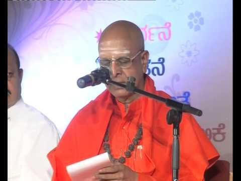 sanehalli panditharadhya swamiji blessing speech in sanehalli natakothsava 02 11 2014